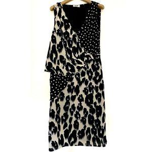 Moschino Cheap And Chic Silk Chiffon Dress, It 42
